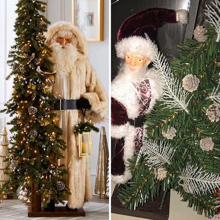 Un achat trompeur sur internet : un Père Noël