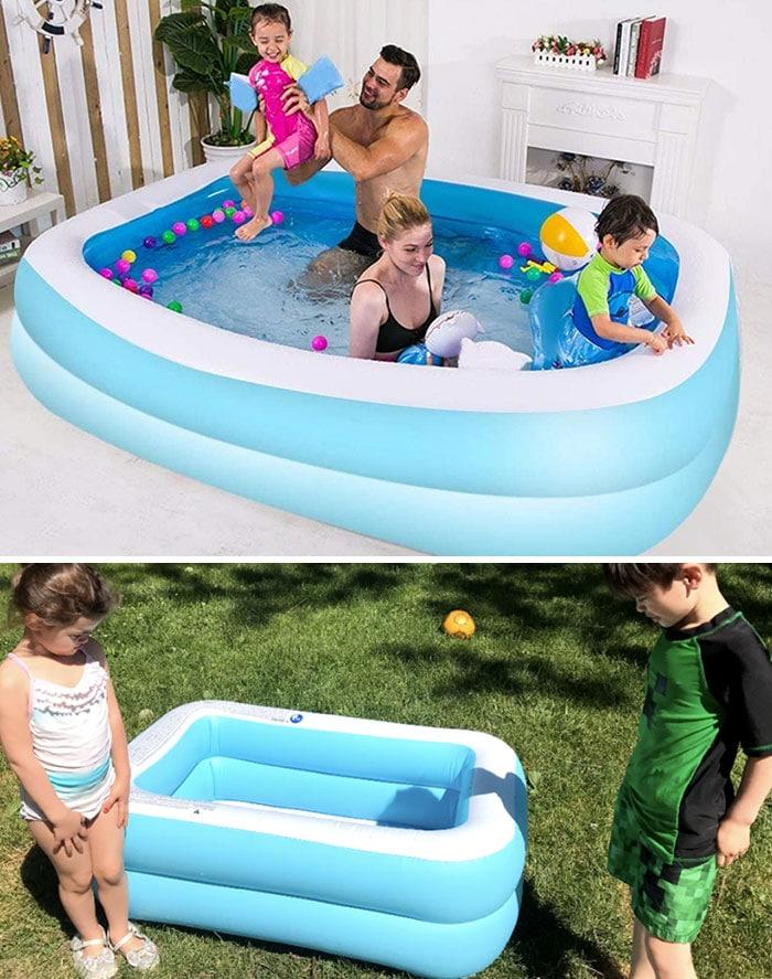 Un achat trompeur sur internet : une piscine trop petite