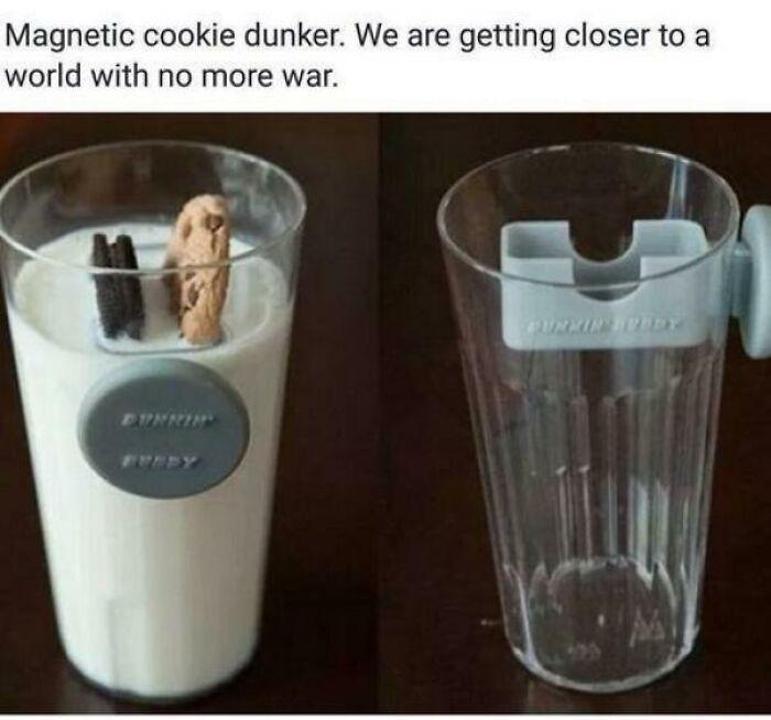 Une invention stupide : un porte-gâteau en verre