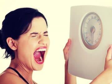 une femme qui ne parvient pas à maigrir