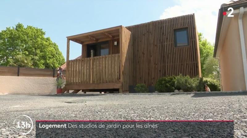 un studio de jardin pour les personnes âgées