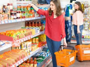 un supermarché Mere