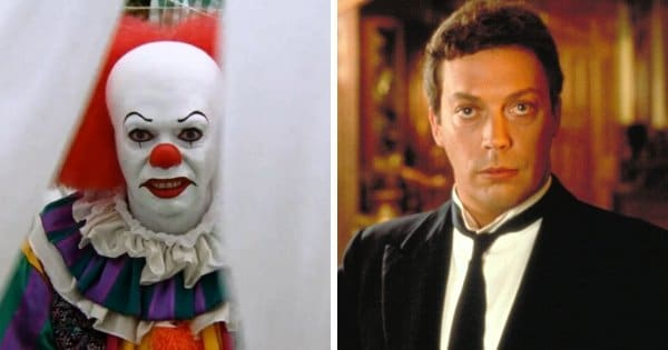 Tim Curry dans It and Evidence