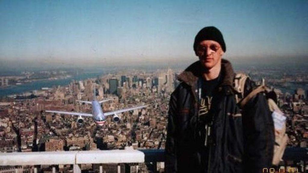 World Trade Center, le 11 septembre 2001 photomontage new york