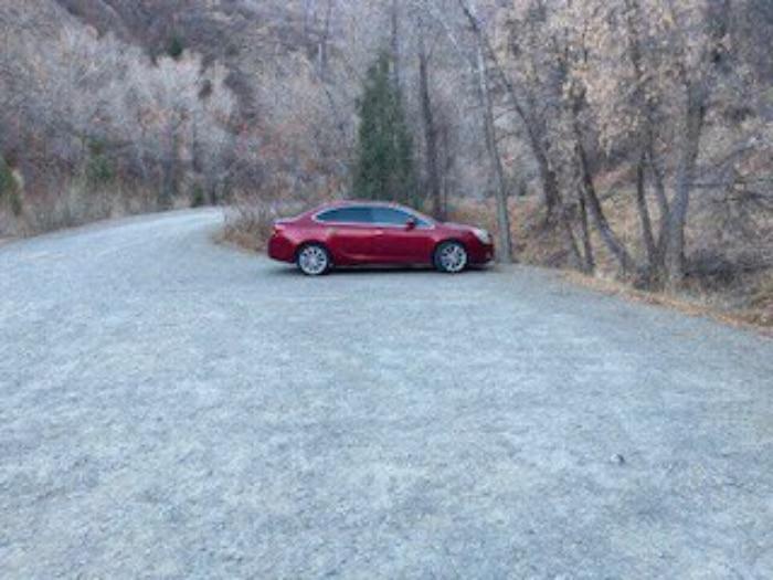 la voiture des disparus dans l'utah, aux états-unis