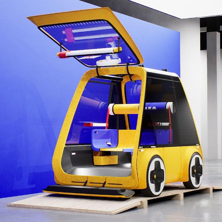 la voiture électrique Höga, par Ikea et Renault