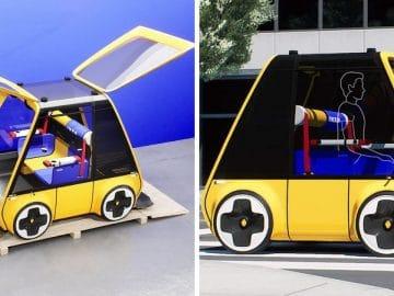 La voiture conçue par Ikea et Renault