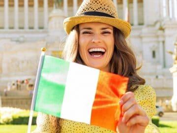 Une touriste en italie