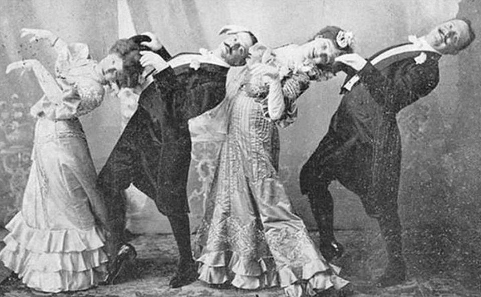 danseurs victoriens