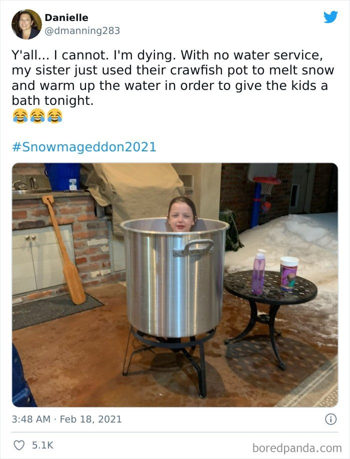 un pot pour une baignoire