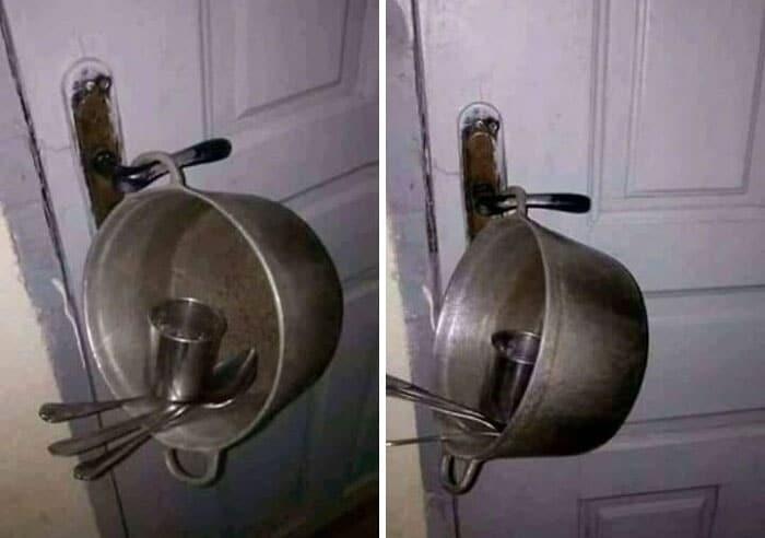 une alarme de maison