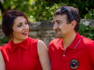 Alexandre et Amandine Pellissard