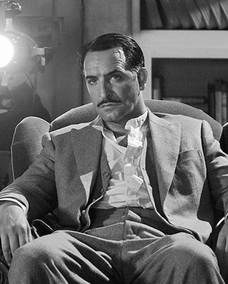 George Valentin dans L'Artiste