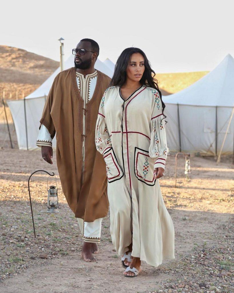 Gims et sa femme DemDem