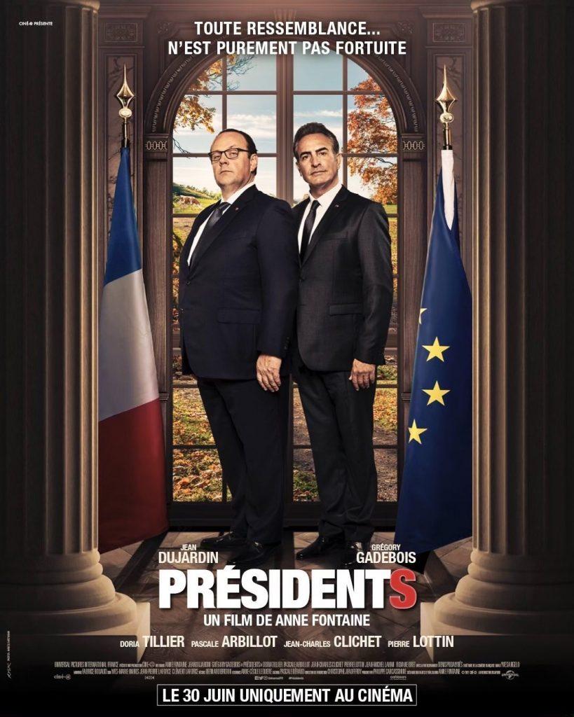 Jean Dujardin dans le film Présidents