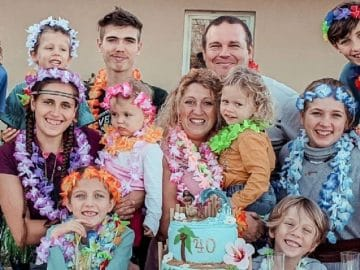 La famille Van Der Auwera