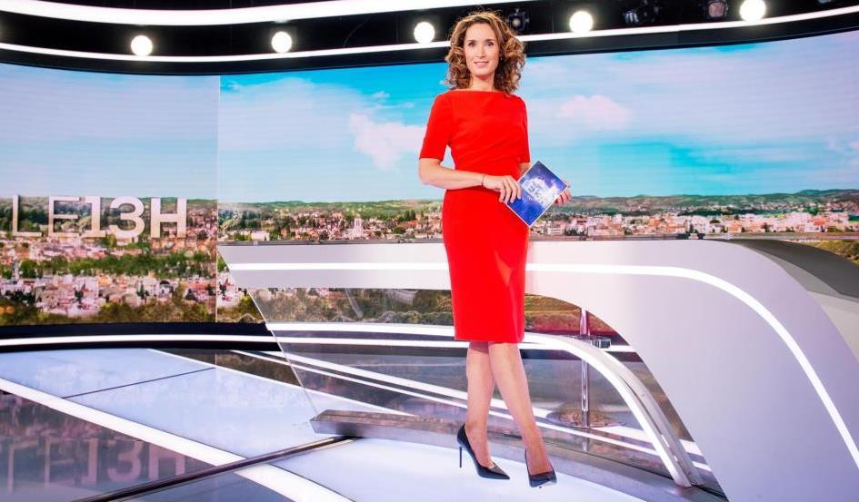 L'animatrice du journal de 13 heures sur TF1