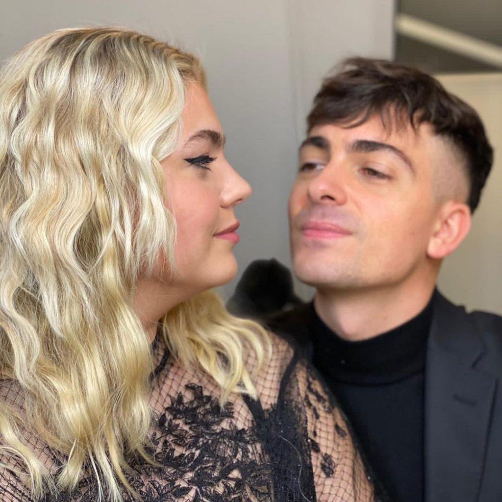 Louane et son compagnon Florian Rossi