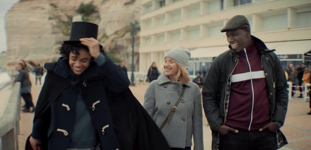 Lupin partie 1, Raoul, Claire et Assane Diop