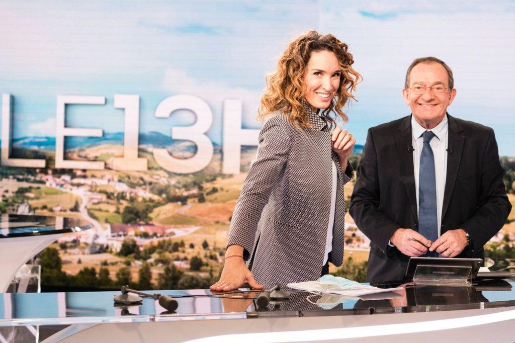 Marie-Sophie Lacarrau et Jean-Pierre Pernaut