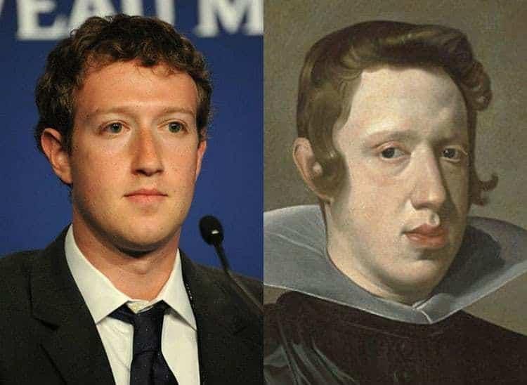 Mark Zuckerberg et Philippe IV