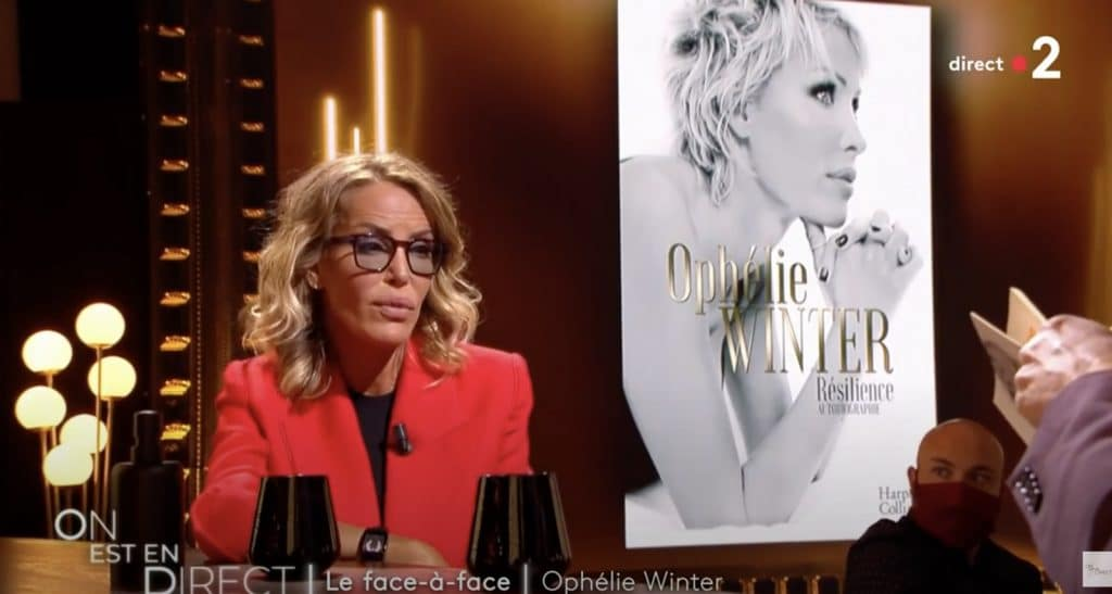 Ophélie Winter face à Laurent Ruquier