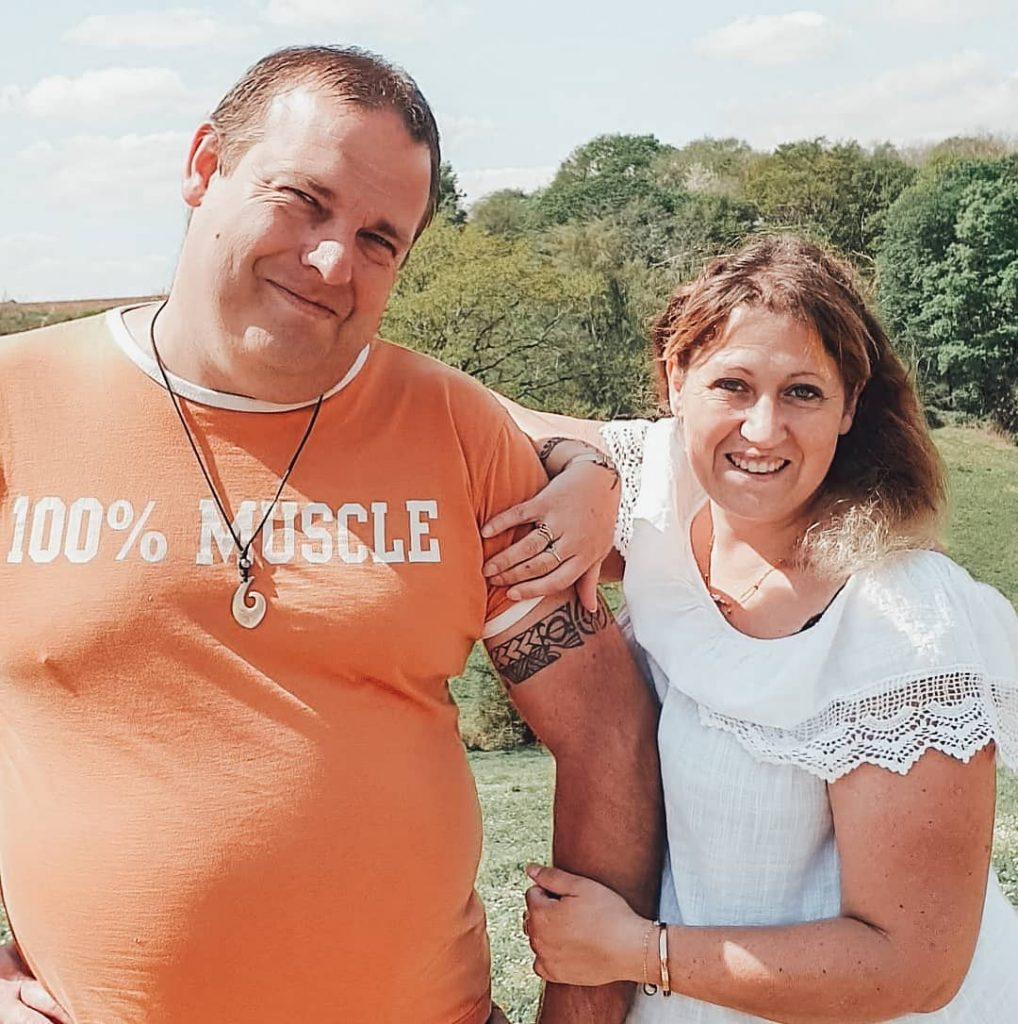 Sébastien et Cindy Van Der Auwera