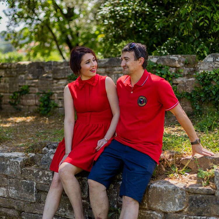 amandine Pellissard et son mari