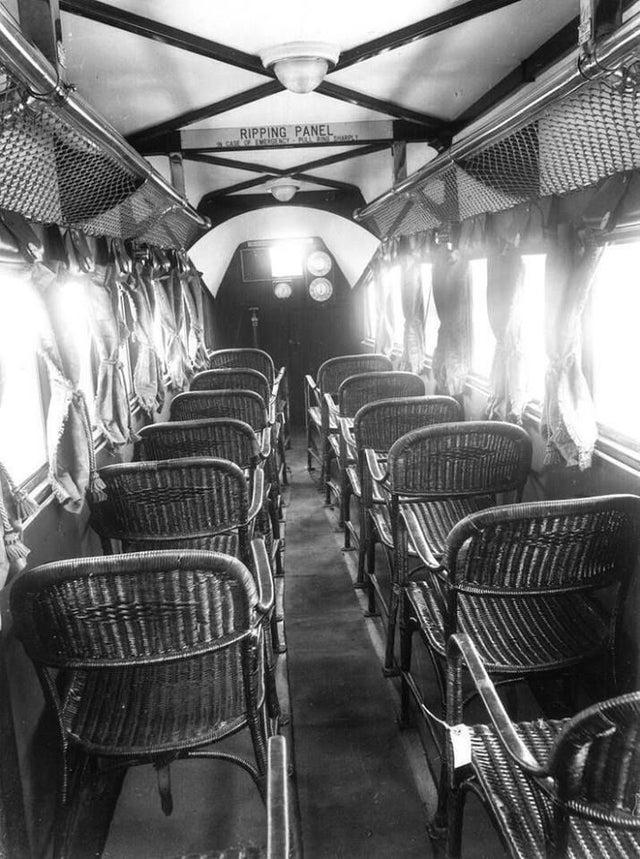 Un avion en 1936