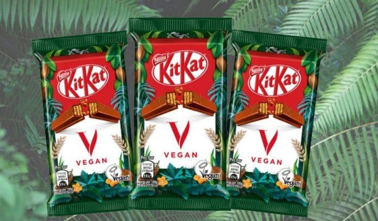 Un KitKat vegan bientôt disponible en France : le KitKat V !