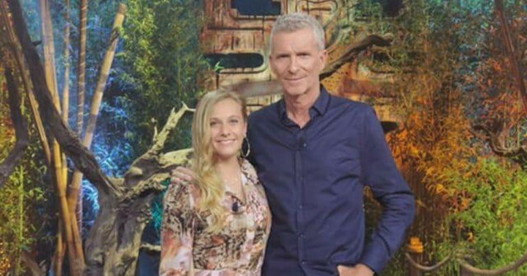 Maxine et Denis Brogniart dans Koh Lanta