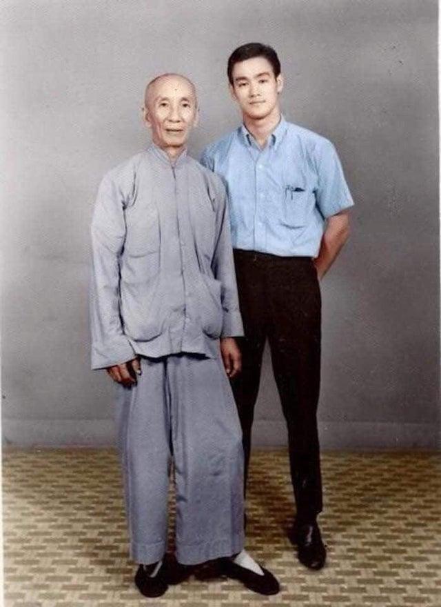 Bruce Lee et son maître