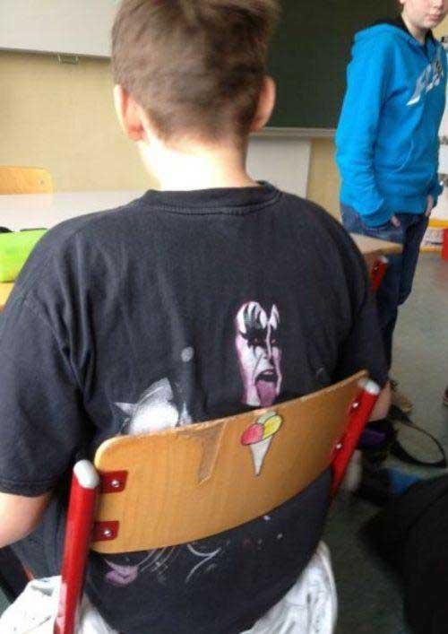 Une drôle de coïncidence sur un t-shirt