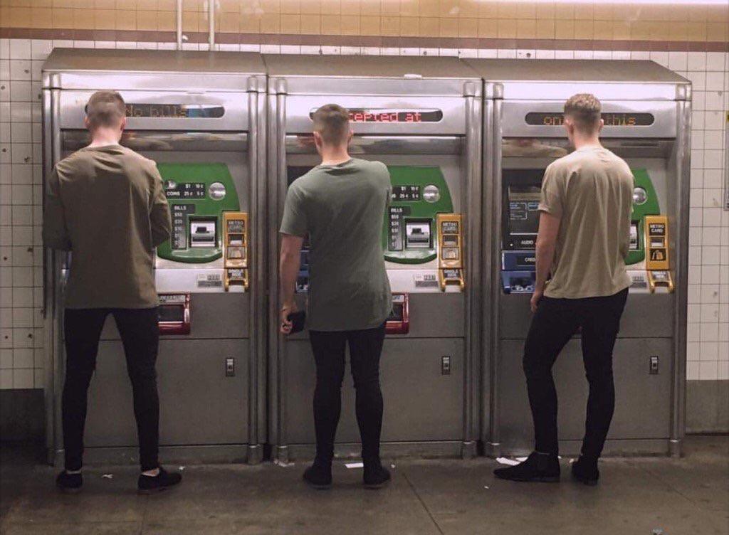 Trois hommes pareils