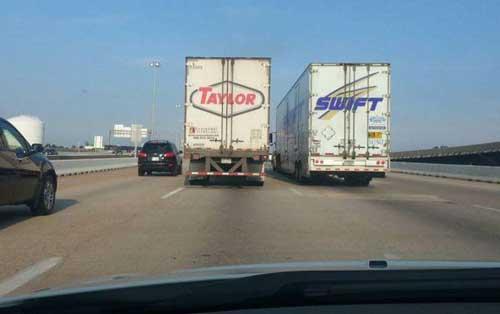 une drôle de coïncidence sur Taylor Swift