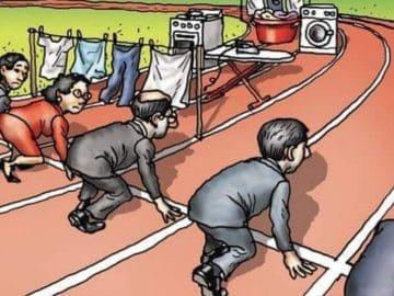 Le dessin de Carlin sur les inégalités au travail