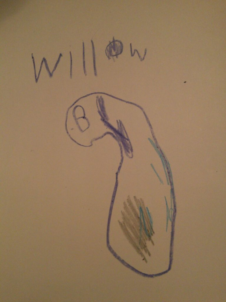 un dessin d'enfant
