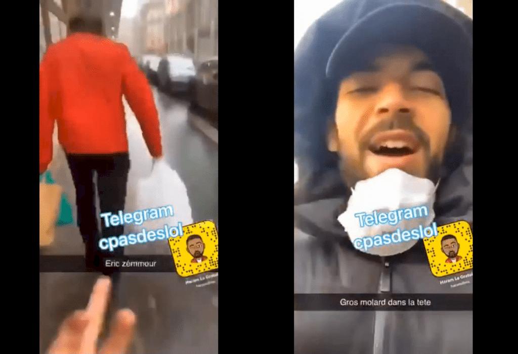 Eric Zemmour insulté dans la rue
