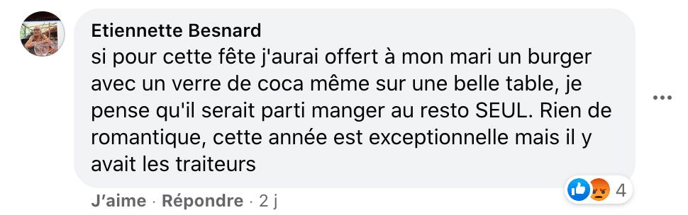 Commentaire Facebook