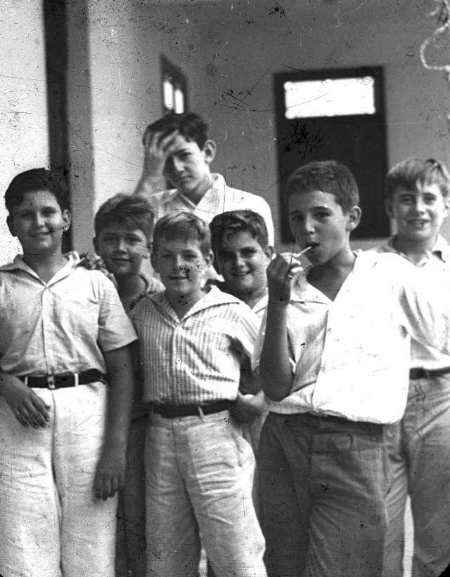 Fidel Castro enfant