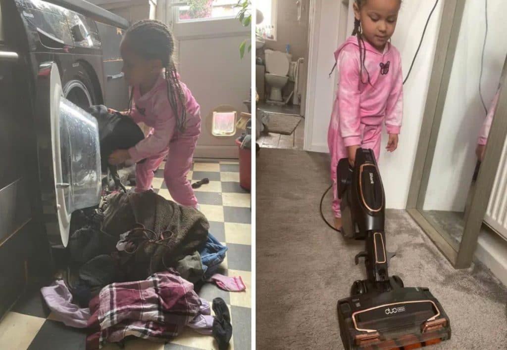 Luna fait le ménage