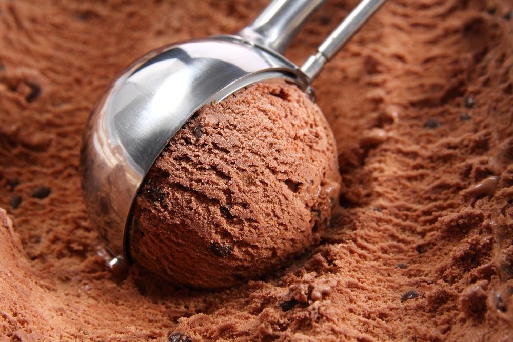 glace au chocolat trop dure