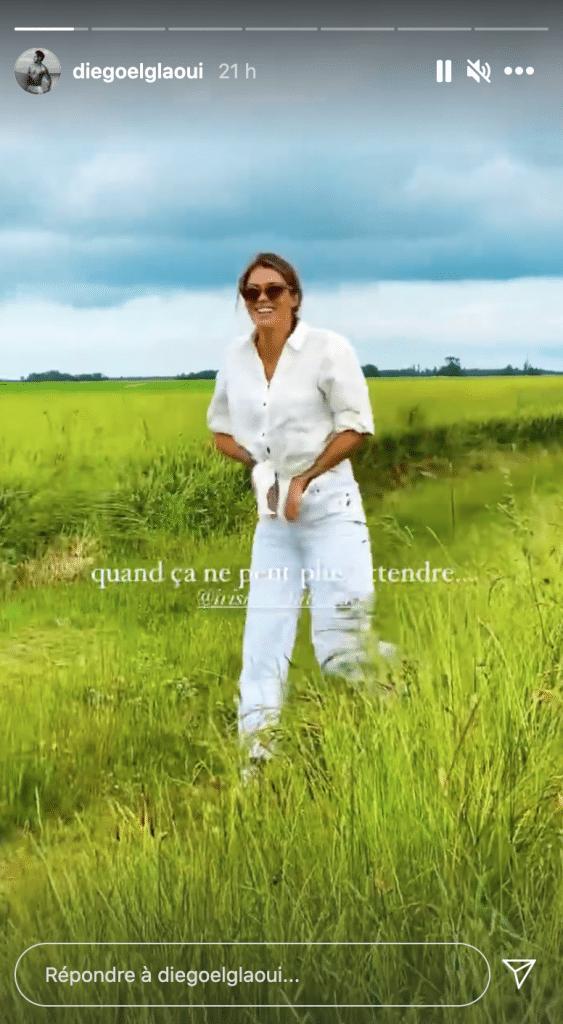Iris Mittenaere filmée par Diego el Glaoui