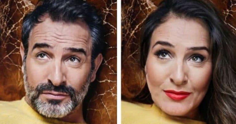 Jean Dujardin en femme