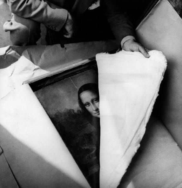 La Joconde en 1945