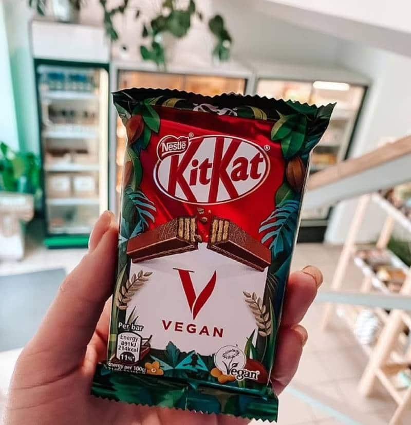 kitkat V Nestlé vegan