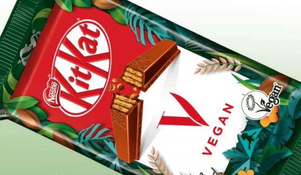 kitkat vegan nestle