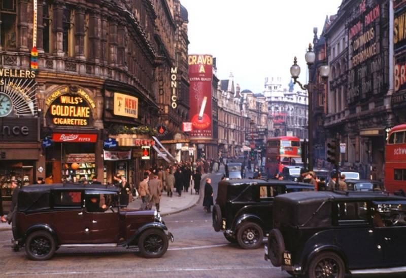 Londres en 1949