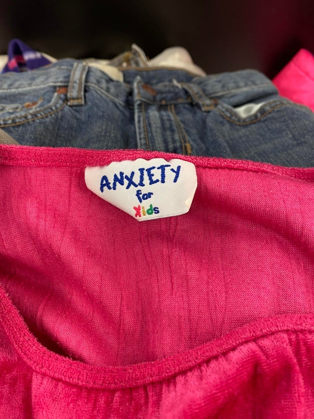 La marque pour enfants Anxiety