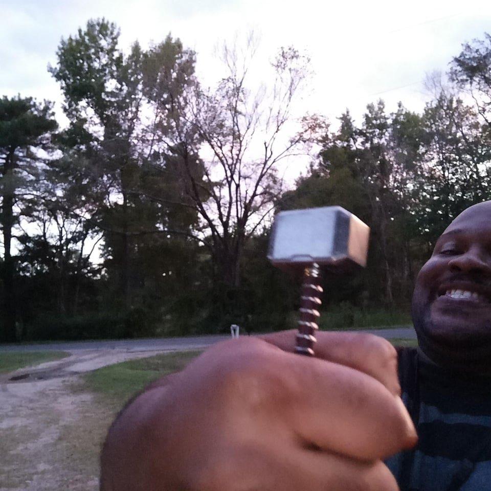 un marteau de Thor